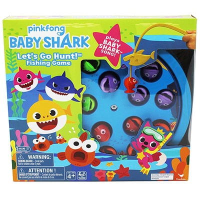 Pinkfong Baby Shark Let's Go Hunt Musical Fishing Game