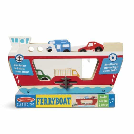 Wooden Ferry Boat