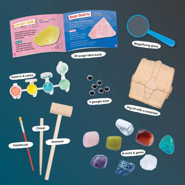 My First Rock & Gem Collection Jr. Activity Kit