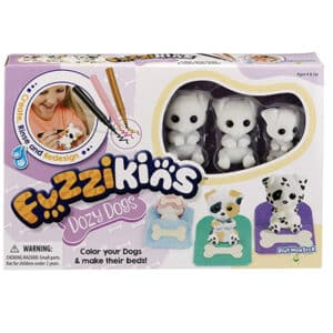 Fuzzikins Dozy Dogs Craft & Playset
