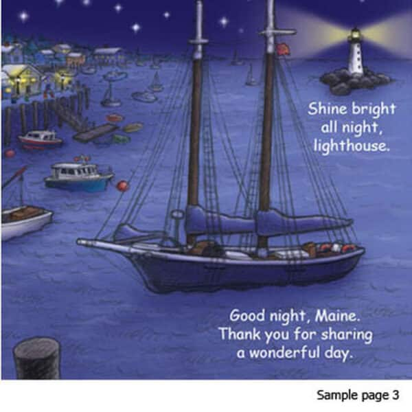 Good Night Maine Board Book