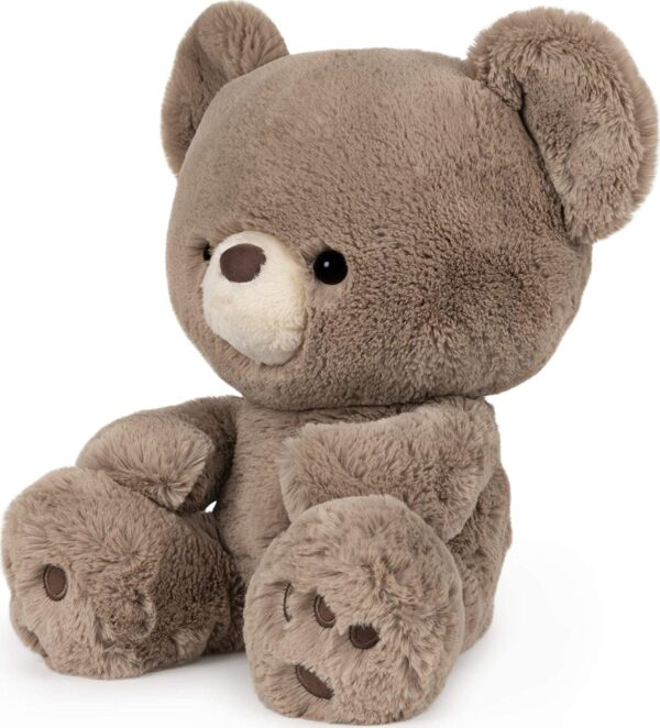 Kai Teddy Bear Plush Stuffed Animal, Taupe Brown, 12″