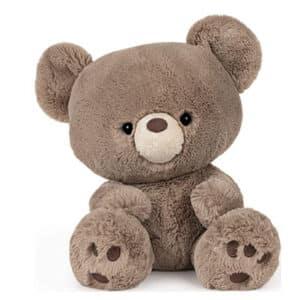 Kai Teddy Bear Plush Stuffed Animal, Taupe Brown, 12″