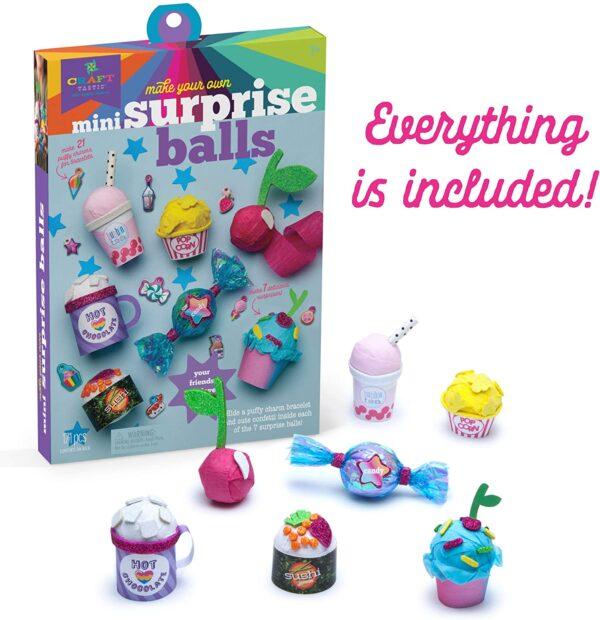 Craft-tastic Mini Surprise Balls