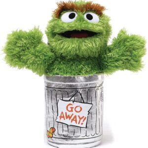 Sesame Street Oscar The Grouch Stuffed Animal 10