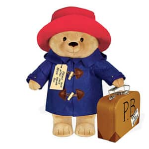 Classic Paddington Bear 16″ Soft Toy with Suitcase