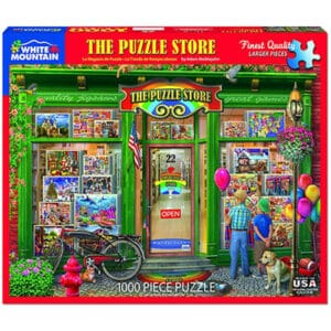 The Puzzle Store 1000 piece White Mountain Puzzle