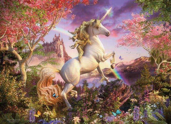 Unicorn 1000 piece puzzle