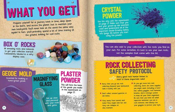 Rocks, Gems and Geodes: Maker Lab STEM Kit