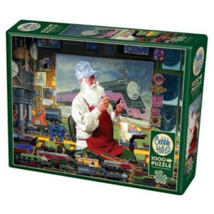 Santa's Hobby 1000 piece puzzle
