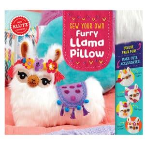 Sew Your Own Furry Llama Pillow Craft Kit
